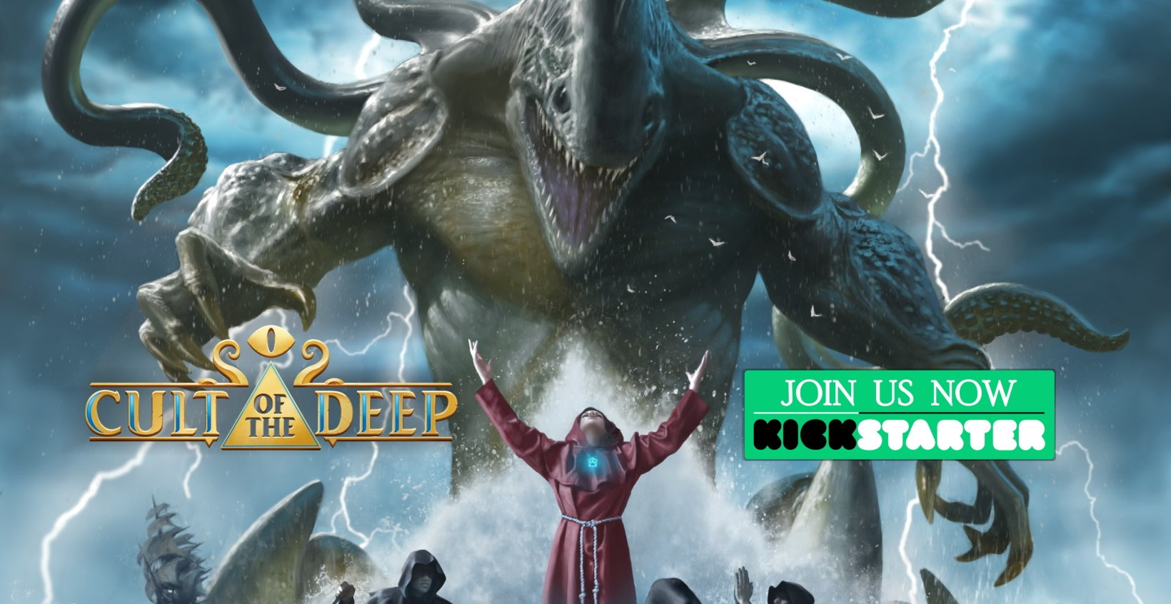 Cult of the Deep on Kickstarter